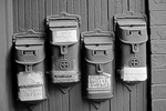 Mailboxes on Cooper Street