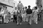 Mary Nastasi Walking Barefoot in the San Rocco Procession