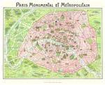 Prints from the Age of Rodin Map of Paris by Fairfield University Art Museum