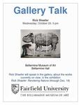 Rick Shaefer:  Rendering Nature Gallery Talk Flyer