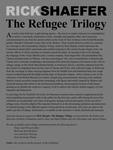 Rick Shaefer: The Refugee Trilogy Intro Panel