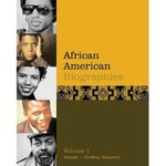 African American Biographies by Scott Lacy