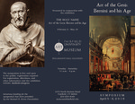 Art of the Gesù symposium brochure