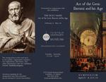 Art of the Gesù symposium brochure